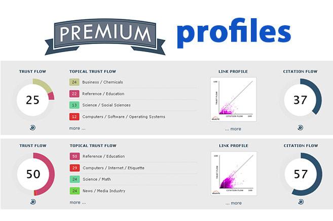 I will build 150 high authority profile backlinks SEO