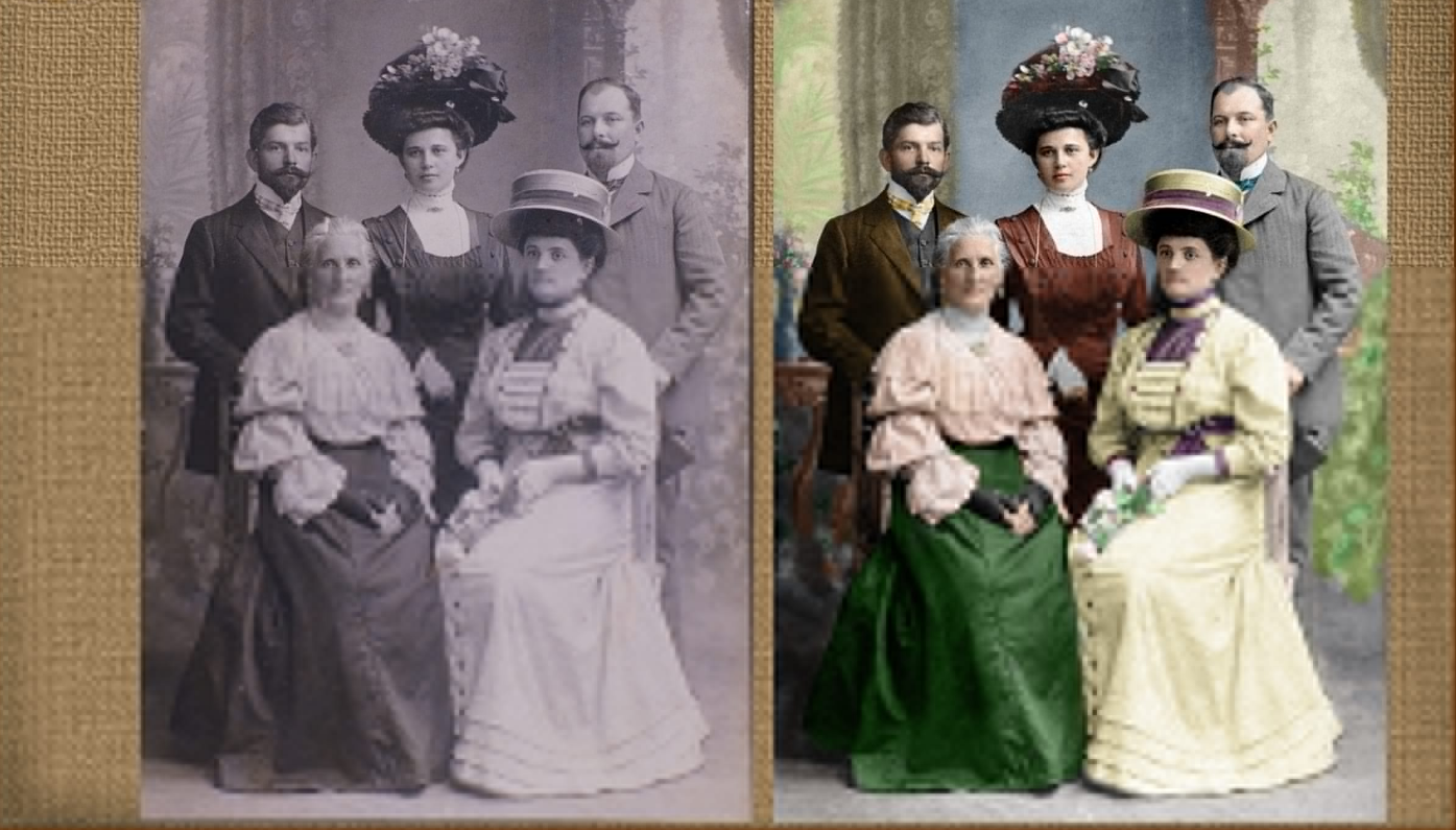 Realistically colorize your black and white pictures
