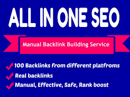 All in One Create 60 Backlinks,  PBN,  Web2,  Profile To Rank You on Google