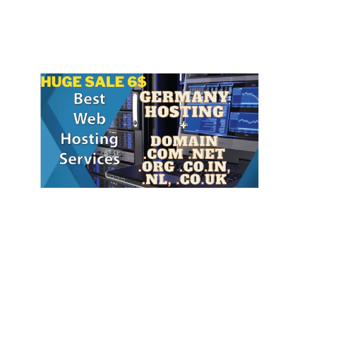 Domain and web hosting for 1 year