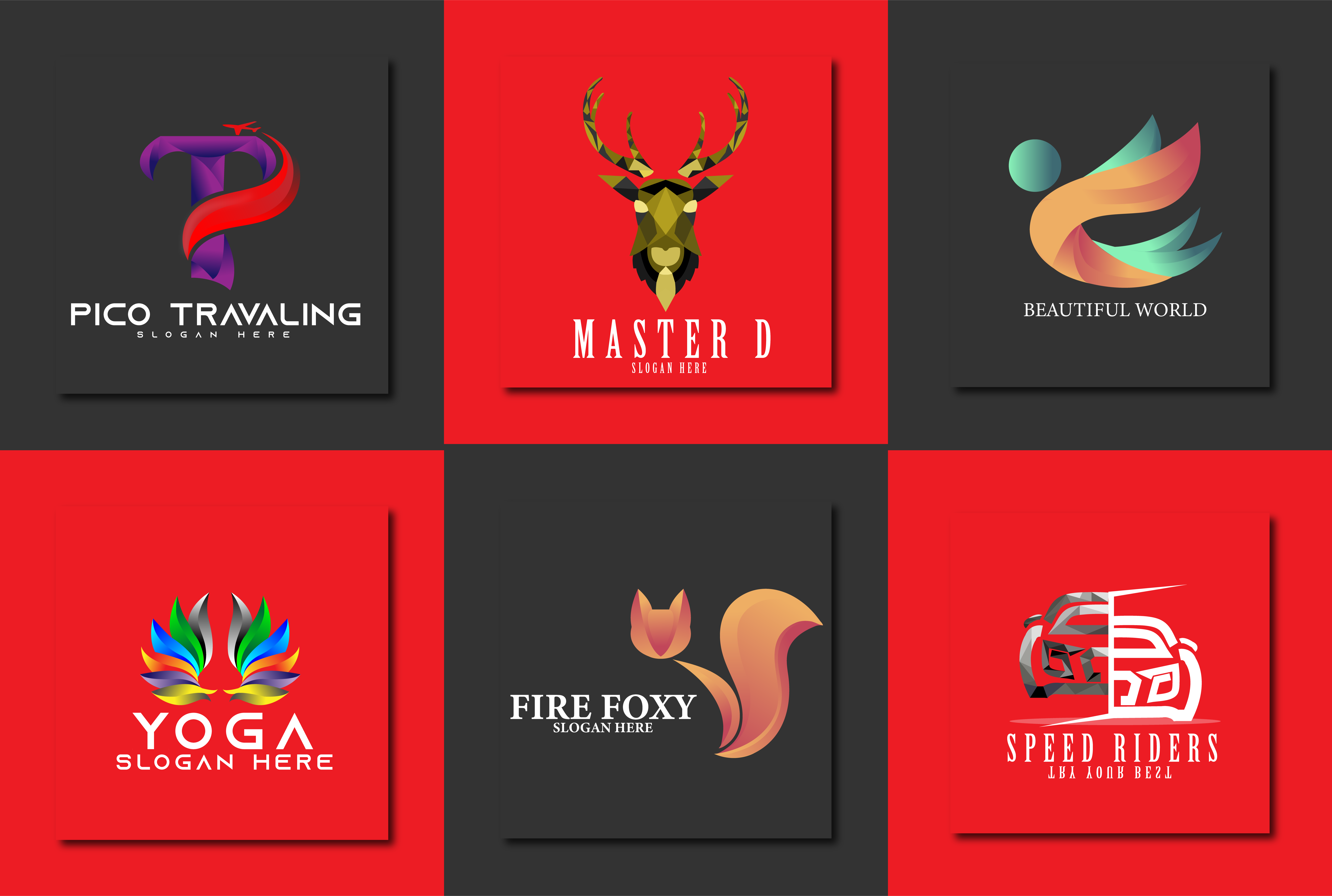 i will create unique modern logo design for your business or company