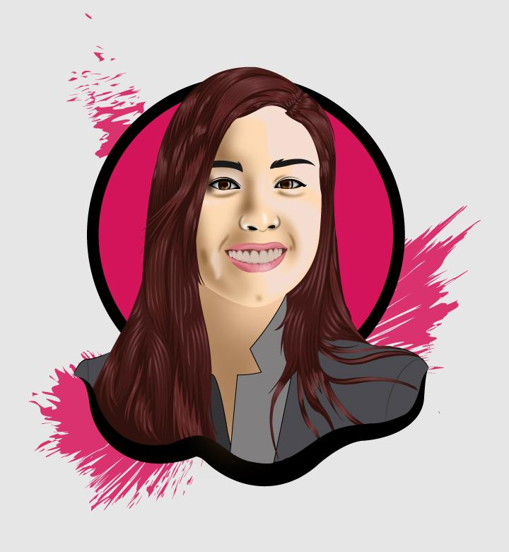 I will draw headshot unique cartoon portrait vector illustration