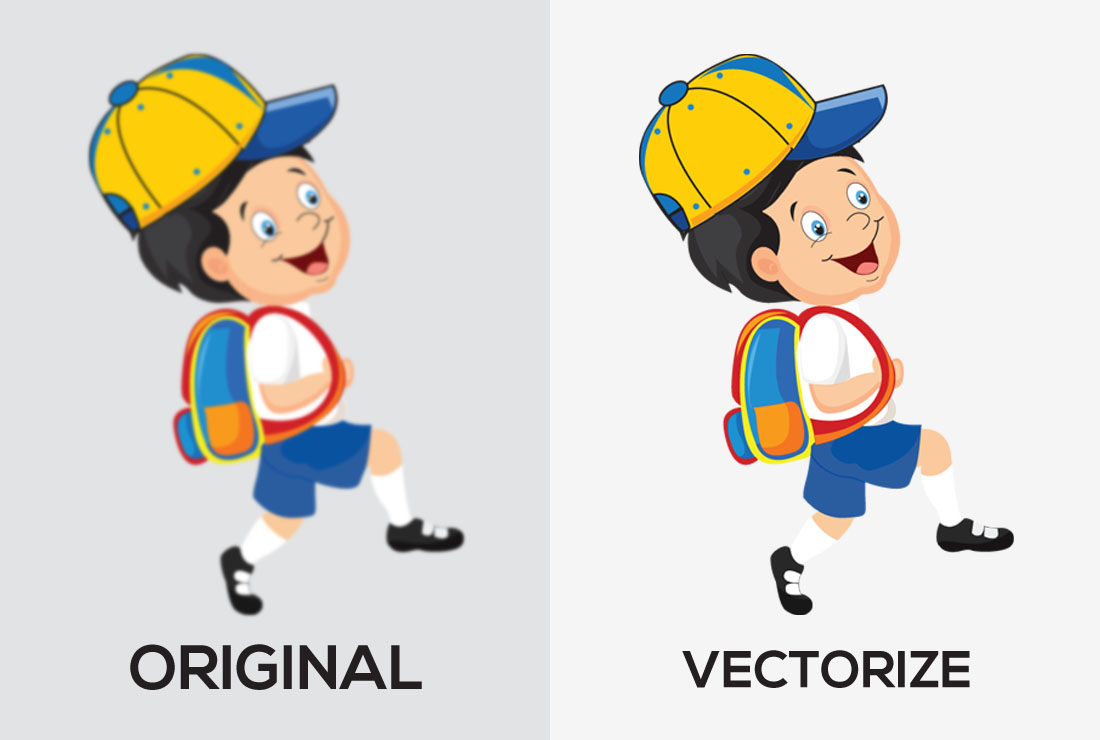 I will vector tracing,  redraw,  recreate, illustration,  vectorise logo or any image to vectors