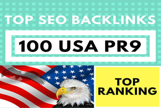 I will create 100 USA pr9 SEO profile backlinks