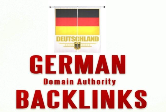 I will build 15 high quality SEO dofollow German de backlinks