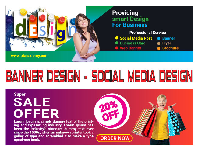 I will design you web banner, cover, pos, ad, header