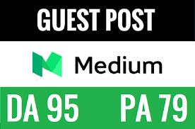 Publish Guest Post on Medium with Permanent Post DA 95