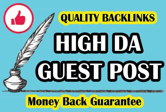 Write & Publish 3 niche related guest post DA 90+ blogs with permanent backlinks Buy 2 Get 1 Free