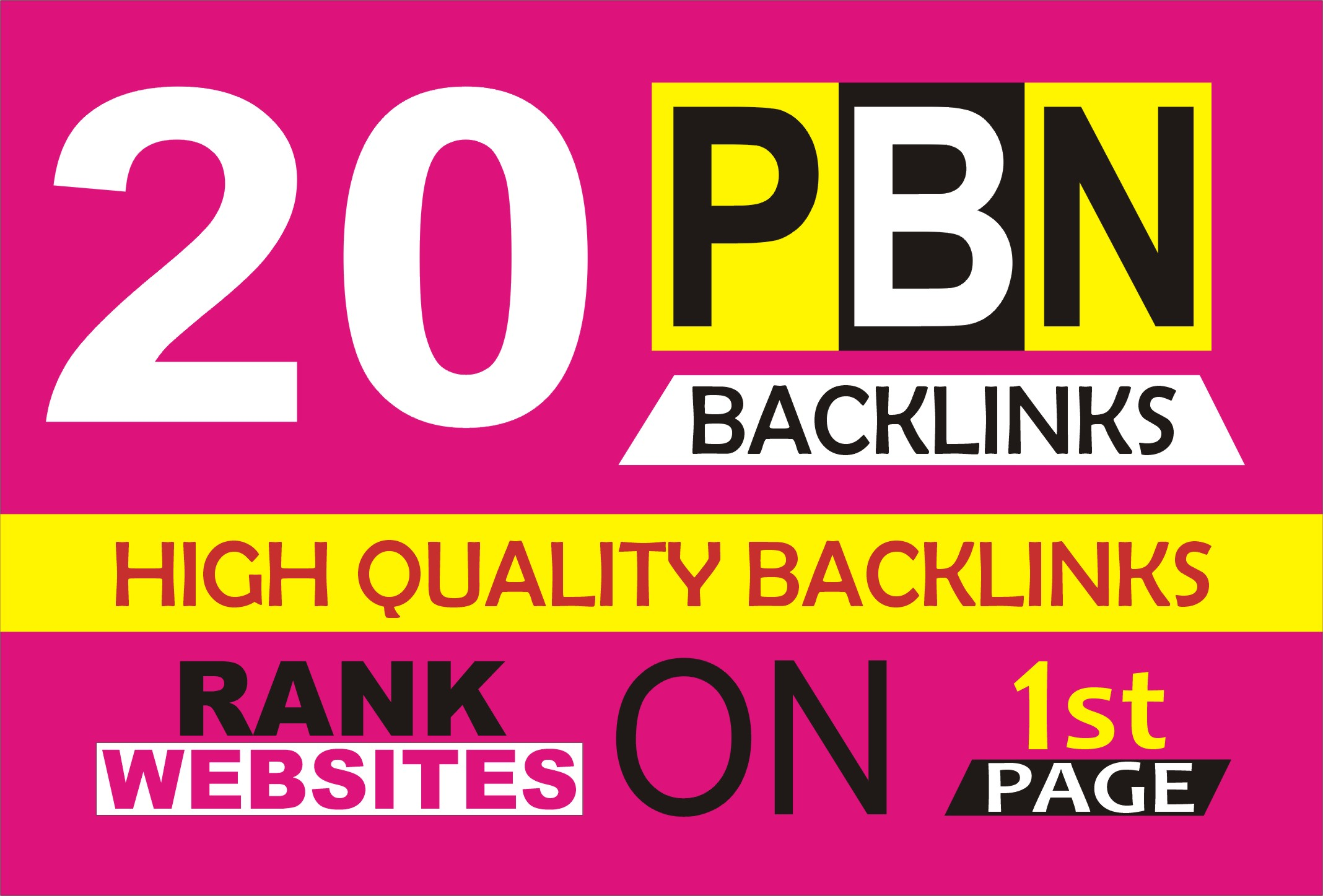Build 20 PBN High PA DA TF CF Permanent SEO Backlinks High Metrics Aged Dofollow Quality Links