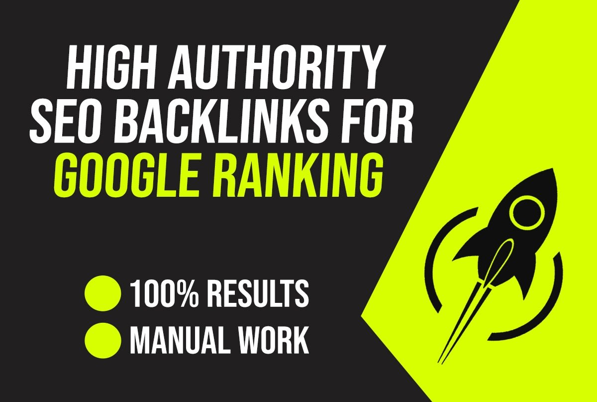 Do Manually 40 High PR9 Unique Backlink For Increasing Your Google Ranking