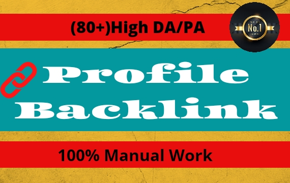 I Will Create 200 High Authority SEO dofollow Profile Backlinks