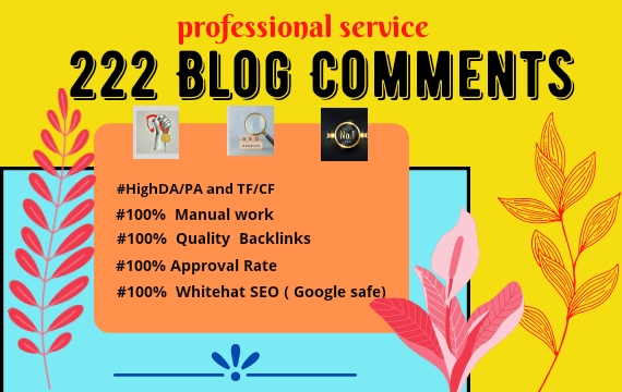 I Will Do High Authority SEO Do-Follow Blog Comment Backlinks
