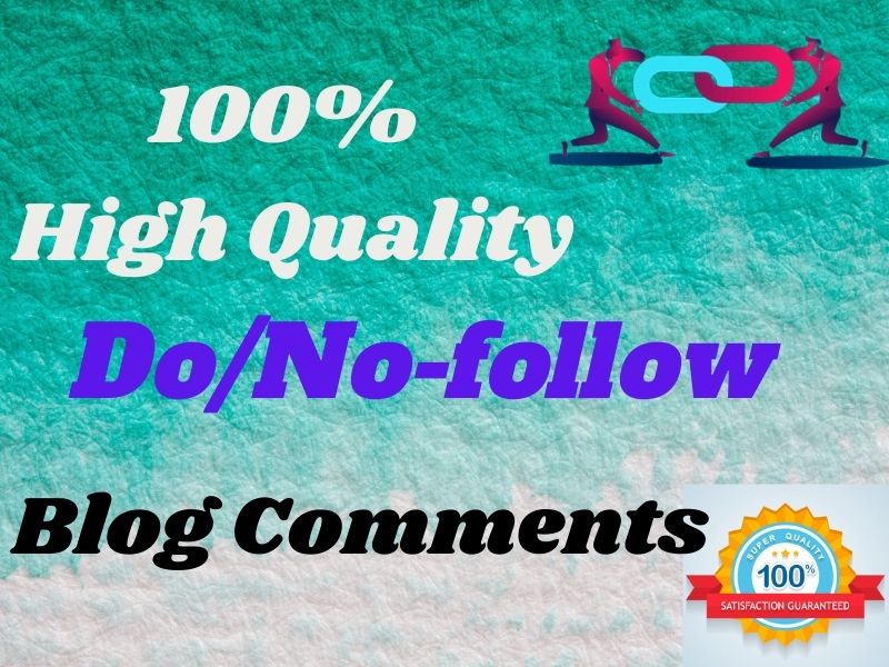 I Will Do High Authority SEO No & Do-Follow Blog Comment Backlinks