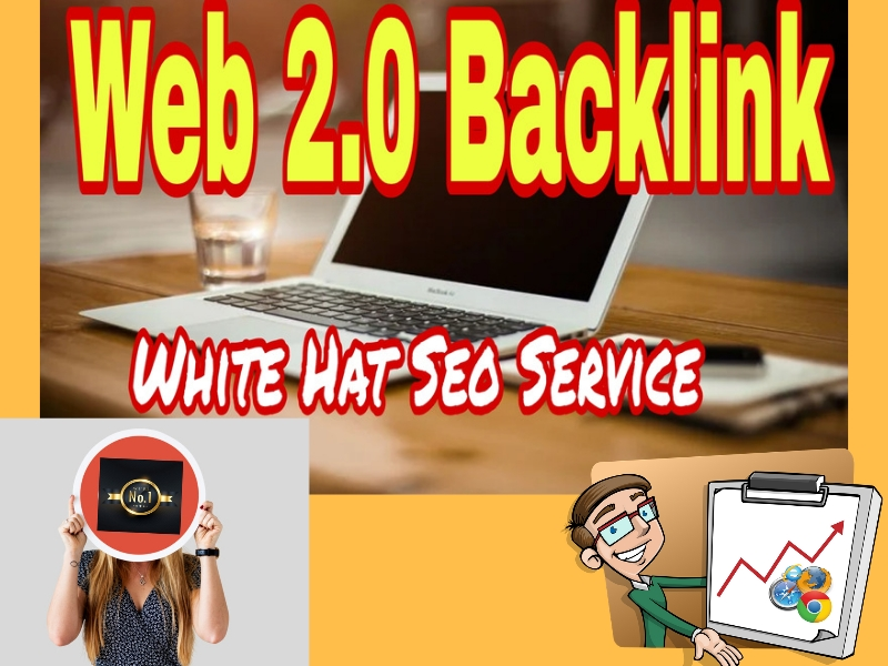Get 1st page with 20 Web 2.0 High DA Backlinks