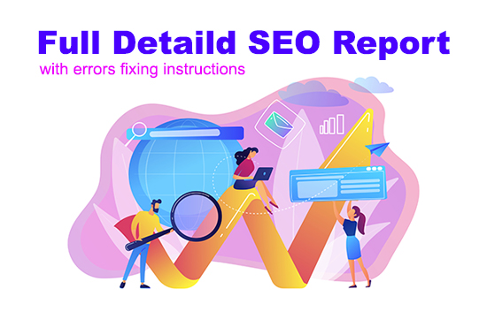 I will audit your website and provide detailed SEO report. jpg