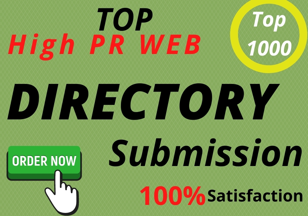 Get 50 Directory Submission live links manually with instant approval
