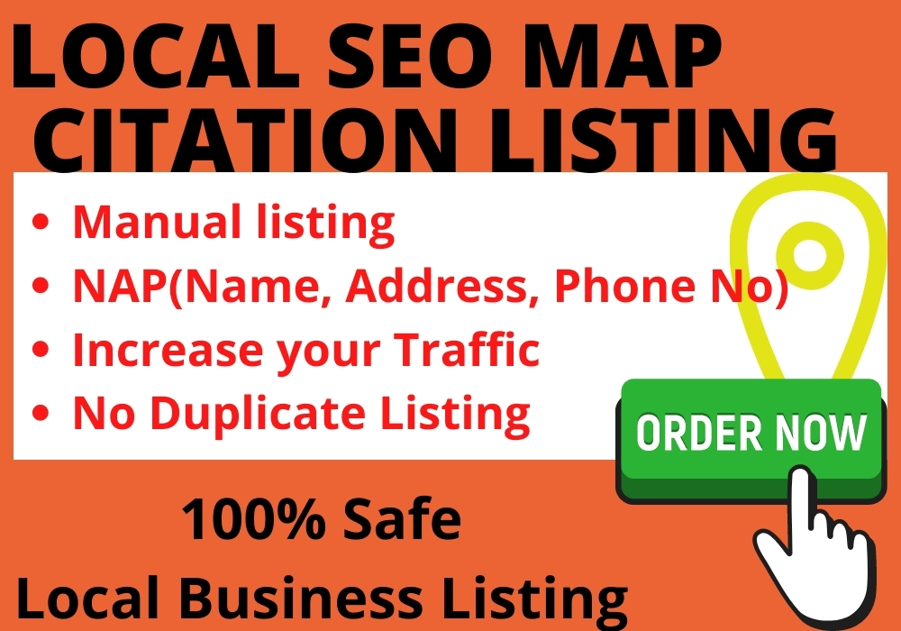 I will create manually 50 local citation or local seo for any country