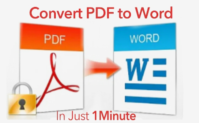 I will file conversion pdf to word,  html,  images,  pages and any format in 1hours