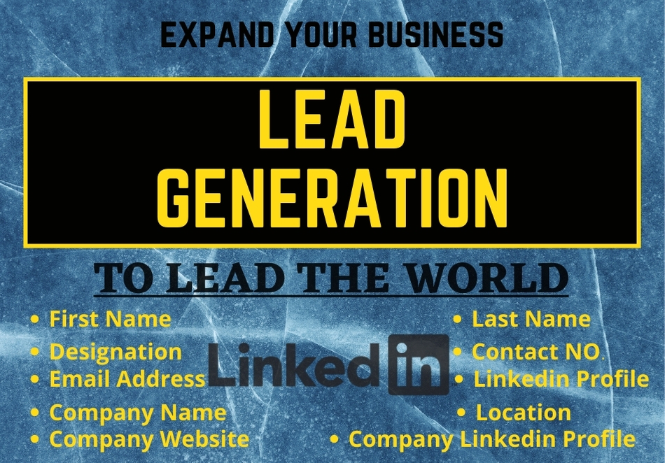 Lead Generate to lead the business with an expert