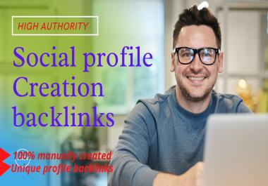I will create 50 High-Quality backlinks & promote your website DA 90+