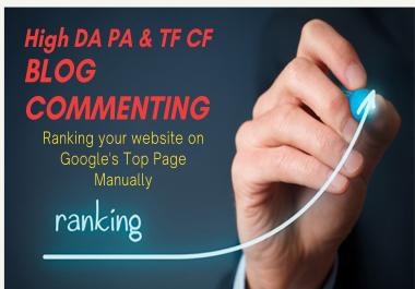 Get 100 High Quality Blog Comments Backlinks