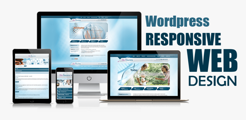 create a Responsive Wordpress website for you