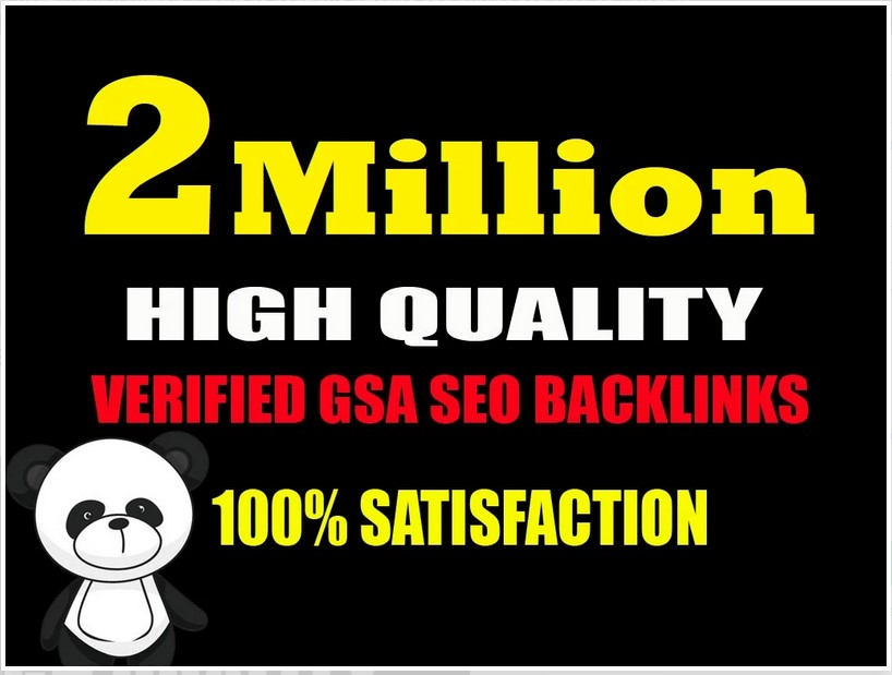 do 2 millions backlinks campaign with ranking on your website