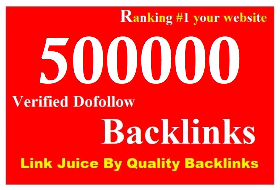 Rank your website on google with live check 500K gsa dofollow backlinks