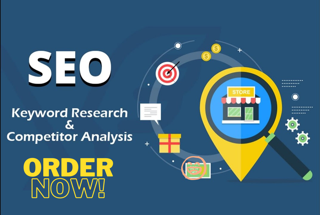 I will do a superb keyword research and competitor analysis that Ranks website fast