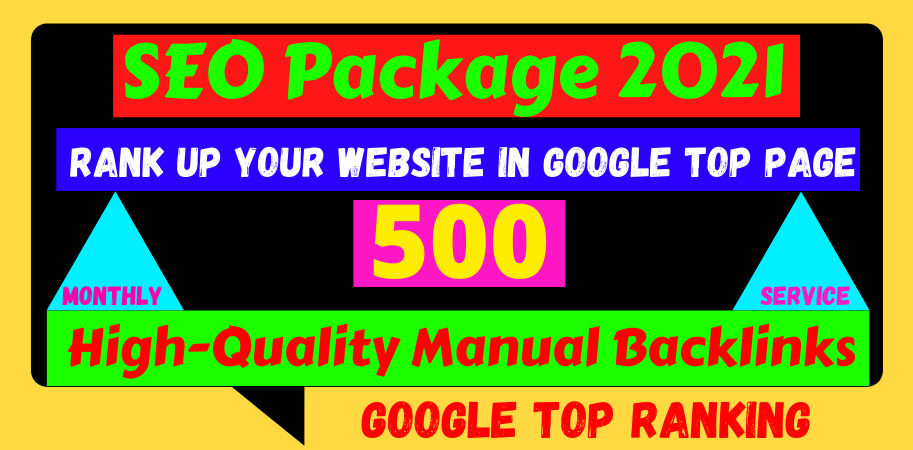All in one Off-Page SEO Package Boost Your Site On Top google ranking 500 backlinks