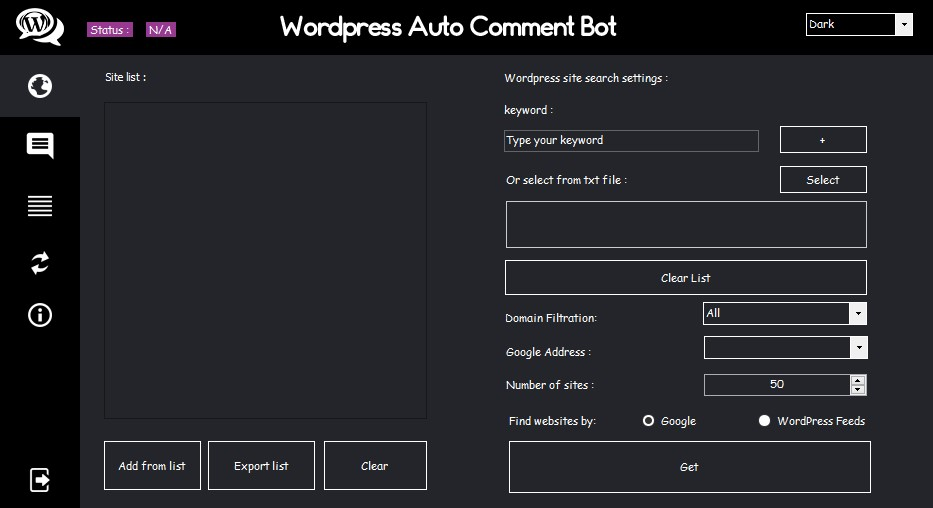 WordPress Auto Comment Bot - New