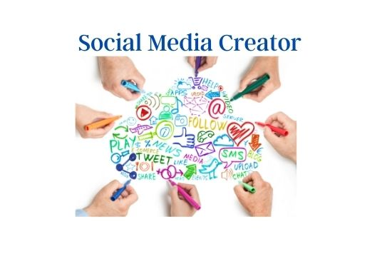 I will be Creator your Social Media