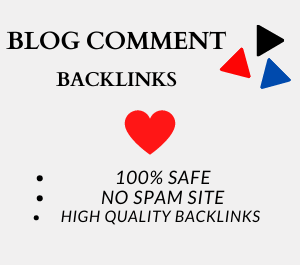 create 50 manual blog comment on high da and dofollow backlinks