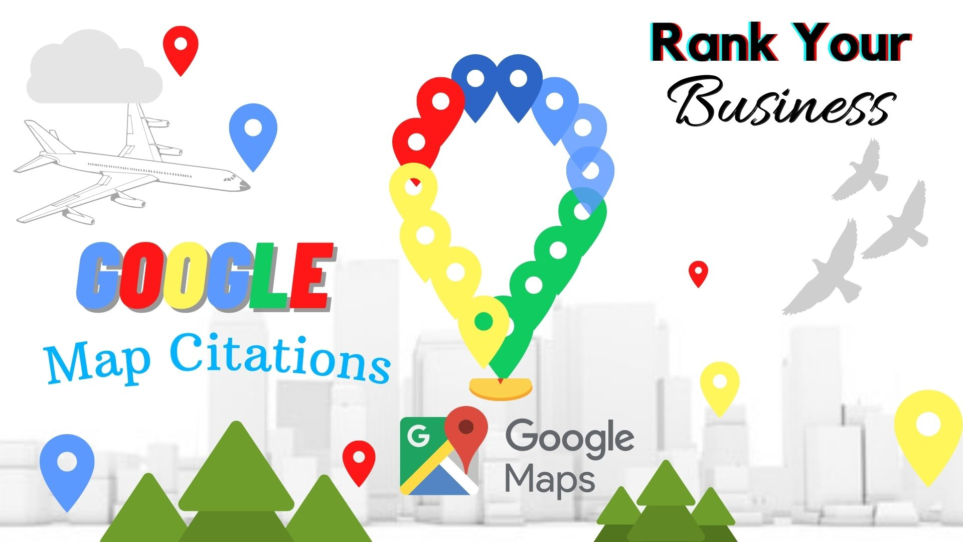 Create 100 Google Map Citations Backlinks In Local SEO To Drive More Customers,  Local area ranking