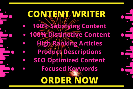 I will write 1500+ words of SEO optimized and plagiarism free content for you.