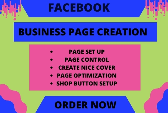 I will create & optimize exceptional Facebook business page for you.