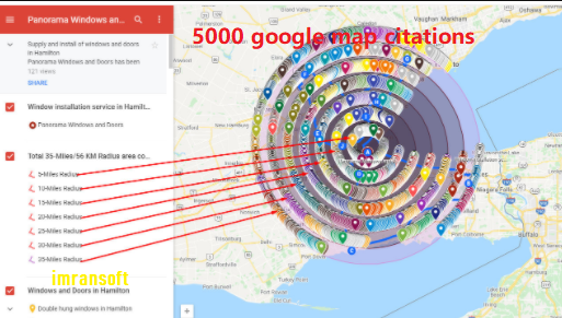 I will do 5,000 google map citation for your local seo.