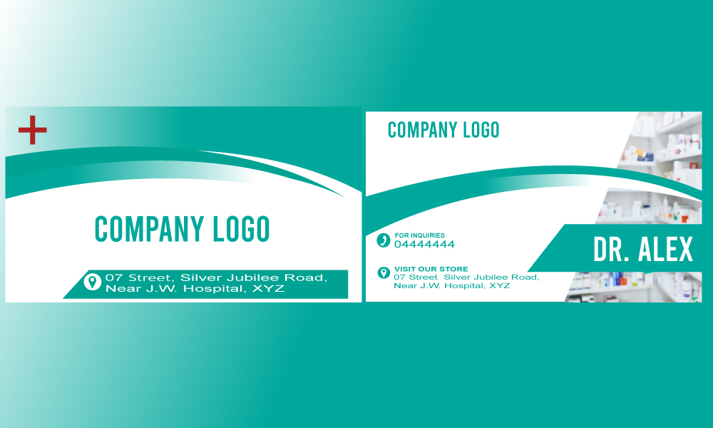 I will design unique modern business card for you