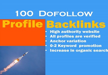 Bump Your Site With High Quality DA Manual Profile Backlinks on Google 1st page