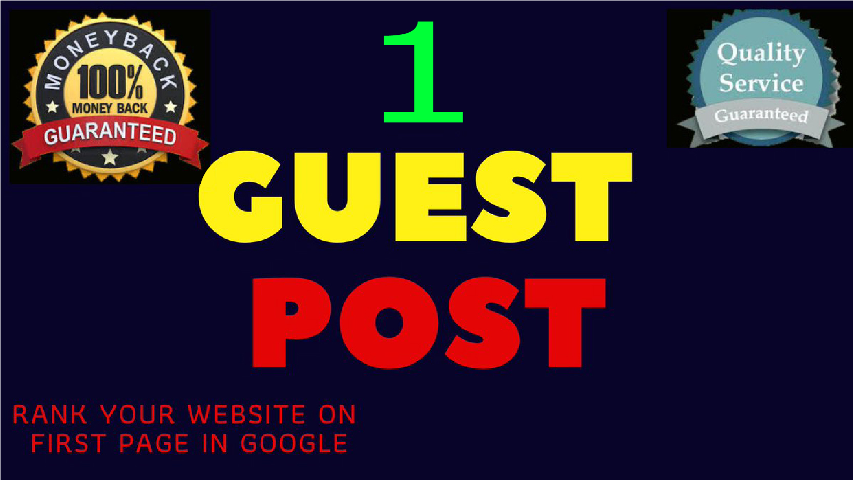 Publish 1 Permanent High DA Guest Posts Backlinks to increase your site traffic
