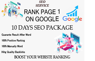I will make 10 days Drip Feed Seo package