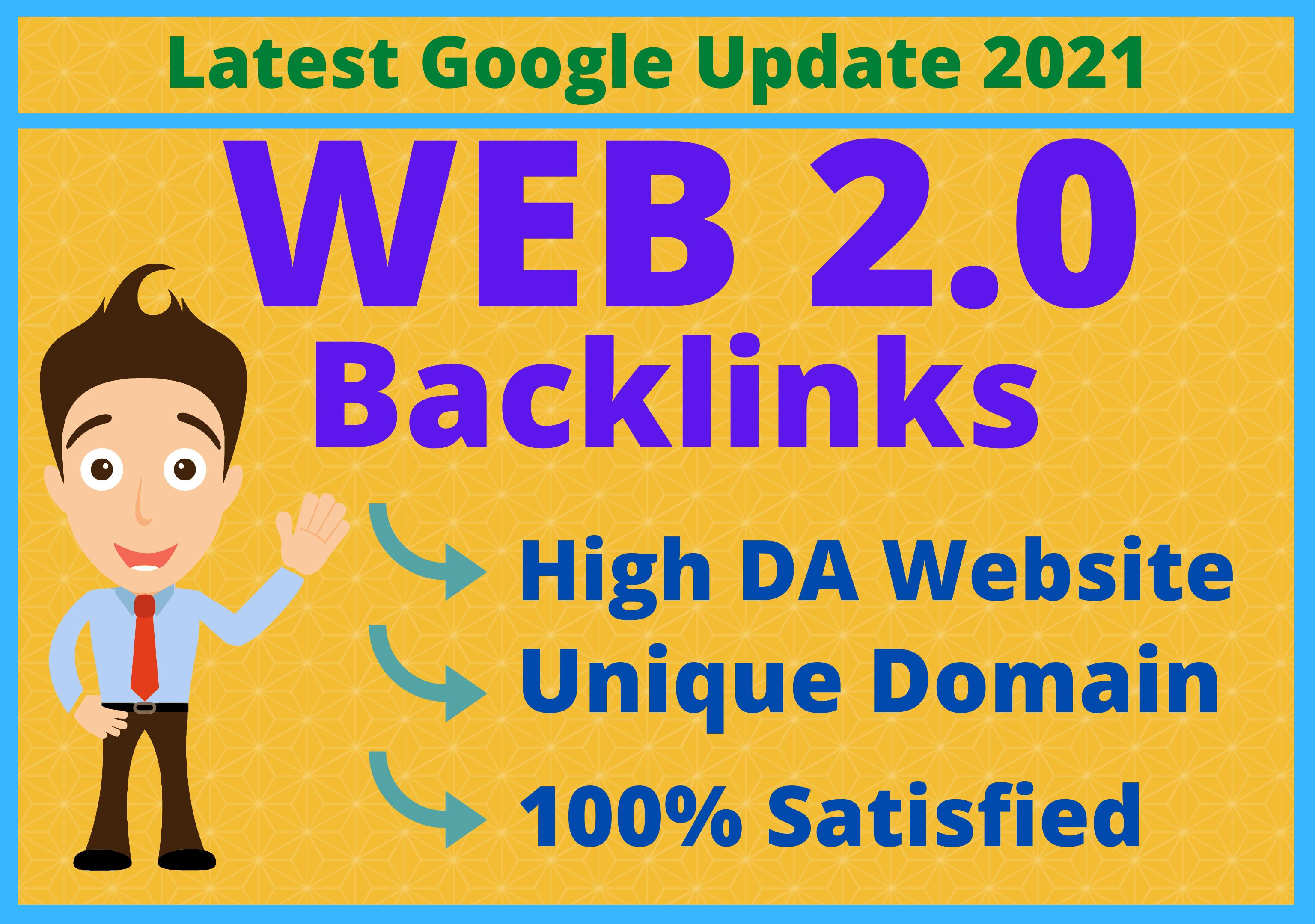 I Will Create 20 High Quality Web 2.0