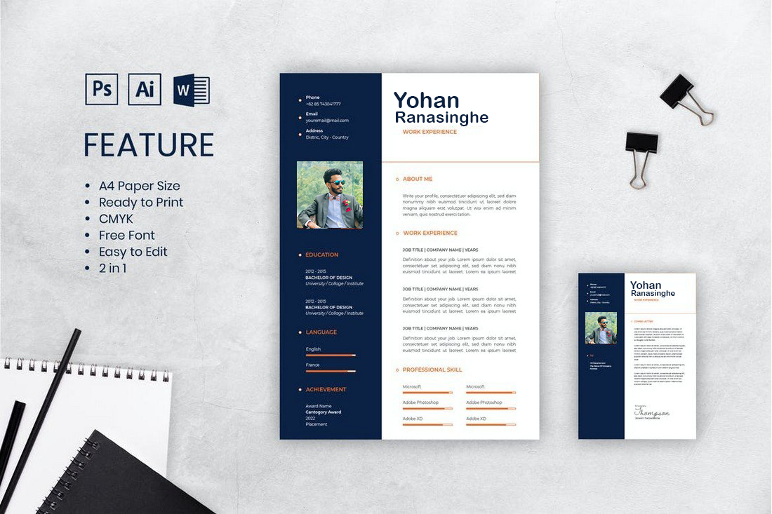 Create or rewrite your CV and Cover Letter within 1 hour