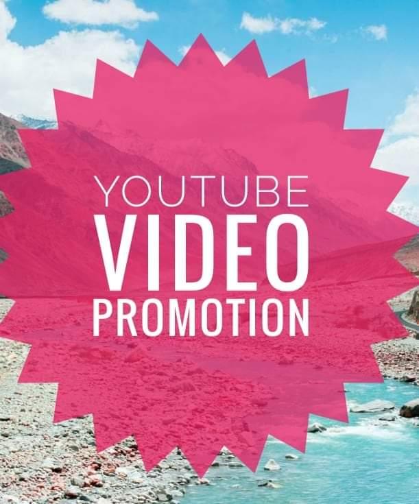 Best quality you tube video promotion honestly good job marketing