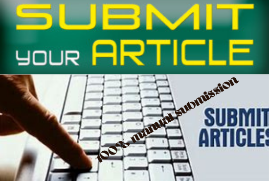 I will do 80 article or free guest posting site manually to get traffic