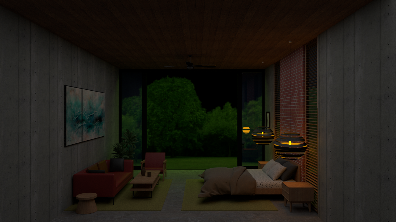 I will design and render 3d interior visualization