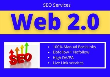 10 Web2.0 High Authority permanent dofollow contextual unique backlink
