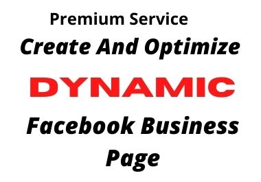 I will create And Optimize Your Facebook Business Page SEO