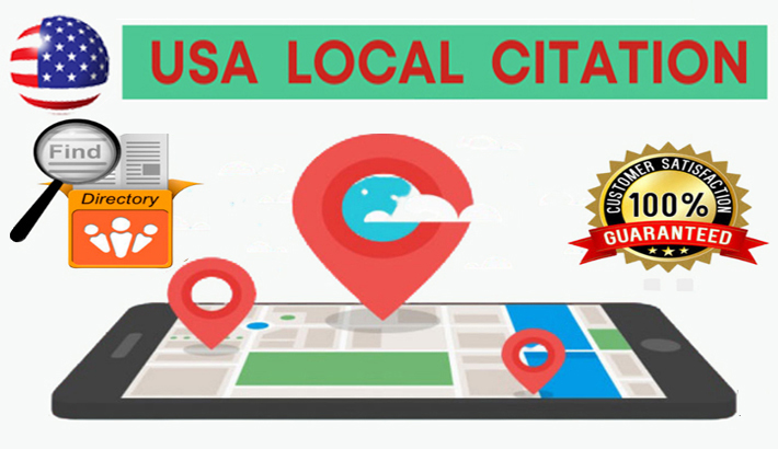Top 50 Live USA Local Listing Citation or Local SEO for your Business