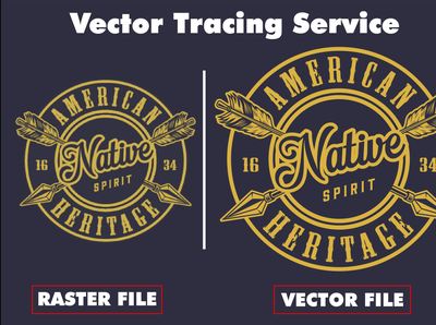 I will convert any image to vector,  vectorize logo,  do vector tracing in 2 hours